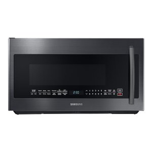 Samsung2.1 cu. ft. Over-the-Range Microwave with PowerGrill in Fingerprint Resistant Black Stainless Steel
