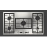 """FULGOR MILANO36"""" Gas Cooktop - Stainless Steel"""