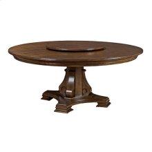 """Portolone Stellia 72"""" Pedestal Table Complete"""