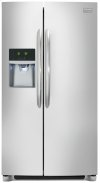 Frigidaire Gallery 23 Cu. Ft. Counter-Depth Side-by-Side Refrigerator