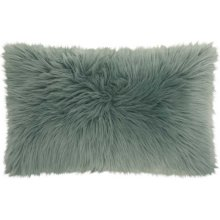 "Fur Fl101 Celadon 1'2"" X 2' Throw Pillows"