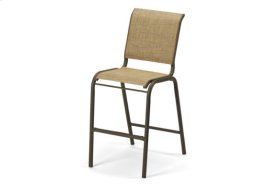 Bar Height Stacking Armless Cafe Chair