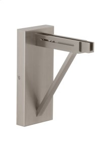 Satin Nickel Extension Partially Extended Clifton Wall