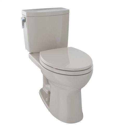Drake® II 1G Two-Piece Toilet, Elongated Bowl, 1.0 GPF - Bone