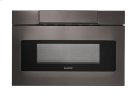 24 in. 1.2 cu. ft. 1000W Sharp Black Stainless Steel Microwave Drawer Oven (SMD2470AH) Product Image