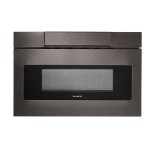 Sharp24 in. 1.2 cu. ft. 950W Sharp Black Stainless Steel Microwave Drawer Oven