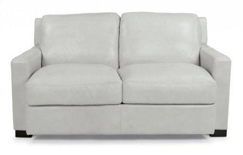 Blake Leather Loveseat