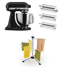 Exclusive Artisan® Series Stand Mixer & Pasta Attachments Set - Black Matte