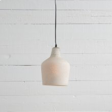 Bell Glass Pendant-marbled Ash