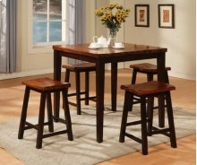 Table and Four Barstools