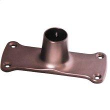 Jumbo Shower Rod Flange - Oil Rubbed Bronze
