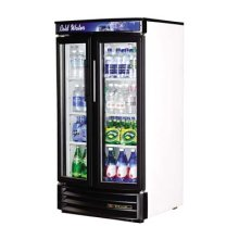 Glass Door Refrigerators - Radius Front
