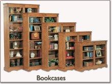 "48"" Wide - Open Bookcase"