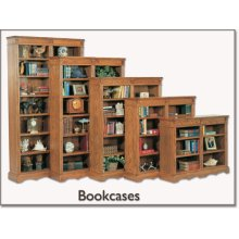 "48"" Wide - Open Bookcase"