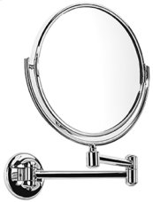 Satin Nickel (us15) Plain / magnifying (x3) pivotal mirror