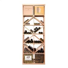 Apex 7' Case & Diamond Bin Modular Wine Rack - OVERSTOCK