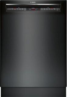 "800 Series 24"" Recessed Handle Dishwasher 800 Series- Black SHE878WD6N"