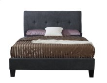 Emerald Home Harper Upholstered Bed Kit Queen Charcoal B129-10hbfbr-03