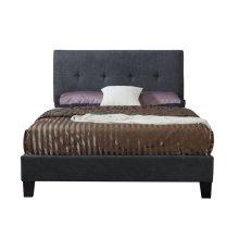 Emerald Home Harper Upholstered Bed Kit Full Charcoal B129-09hbfbr-03