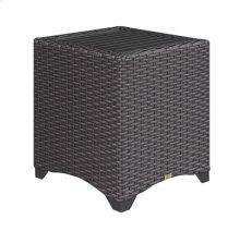 End Table Aluminum Slat Top