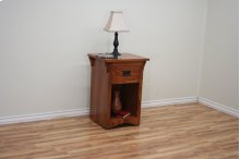 O-M447 Mission Oak One-Drawer Nightstand