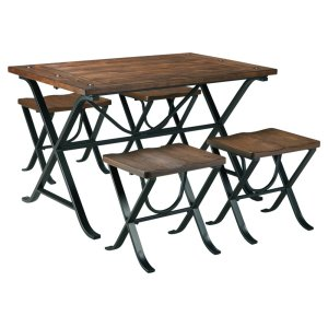Ashley FurnitureSIGNATURE DESIGN BY ASHLEFreimore Dining Room Table and Stools (set of 5)