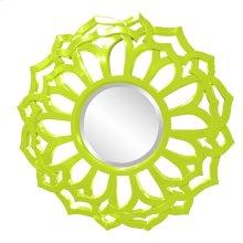 Casey Mirror - Glossy Green