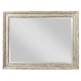 Cornsilk Weatherford Landscape Mirror
