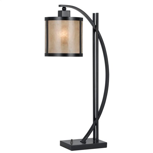 60W Mica Table Lamp