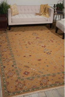 Nourmak S205 Toffee Rectangle Rug 3'10'' X 5'10''