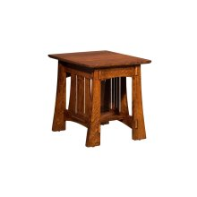Highland End Table with Drawer