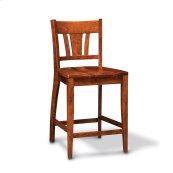 "Sheffield Stationary Barstool, 30"" Seat Height"