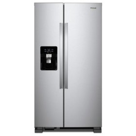 Whirlpool® 36-inch Wide Side-by-Side Refrigerator - 25 cu. ft. - Fingerprint Resistant Stainless Steel