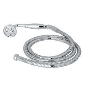 Polished Chrome Perrin & Rowe Inclined Handshower And Hose