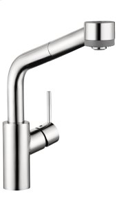 Chrome Talis S 2-Spray SemiArc Kitchen Faucet, Pull-Out, 1.75 GPM