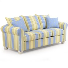 Striped Queen Sleeper Sofa 890Q