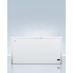 SummitCommercially Listed 17 CU.FT. Frost-free Chest Freezer In White With Digital Thermostat for General Purpose Storage; Replaces Scff150