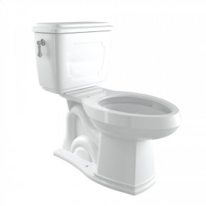 Polished Nickel Perrin & Rowe Victorian Elongated Close Coupled 1.28 GPF High Efficiency Water Closet/Toilet