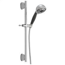 Chrome H2Okinetic ® 5-Setting Slide Bar Hand Shower