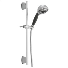 Chrome H2Okinetic ® 5-Setting Slide Bar Hand Shower