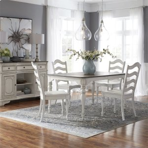 Liberty Furniture Industries5 Piece Leg Table Set