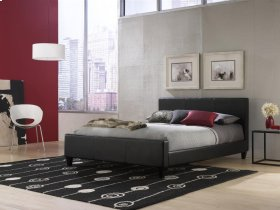 Euro Platform Bed (Black) - CALKING