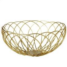 Countertop Metal Basket Display.