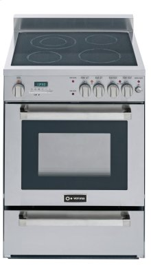 """Stainless Steel 24"""" Electric Range"""
