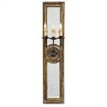 Three Arm Mirror Sconce (small)