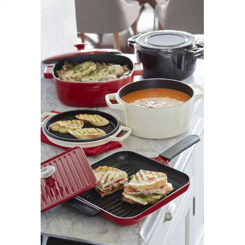 Grill and Panini Press - Empire Red