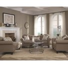 Carnahan Traditional Stone Grey Loveseat Product Image
