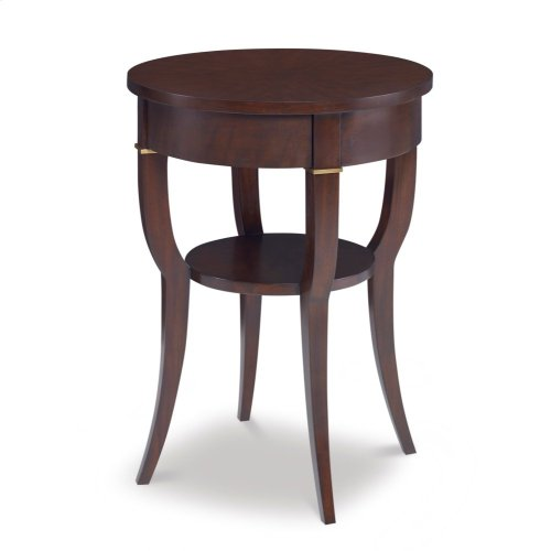 Cabriole End Table