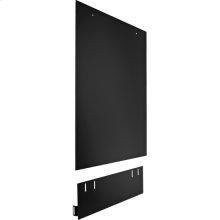 Dishwasher Side Panel Kit - Black