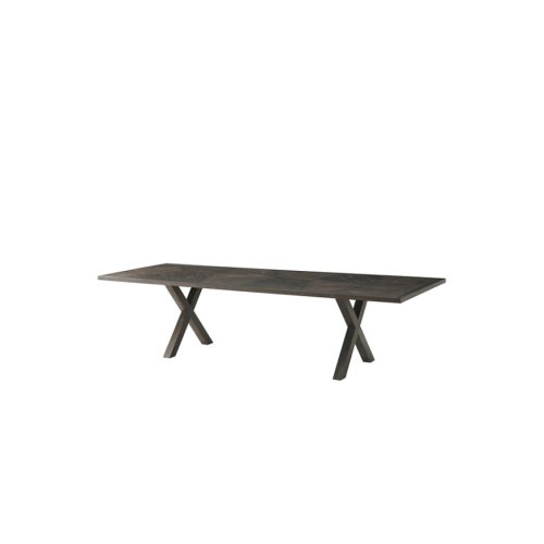 Mullin II (large) Dining Table - Wooden Base